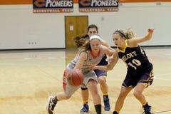 Le basket-ball des femmes de NCAA Image libre de droits