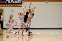 Le basket-ball des femmes de NCAA Photo stock