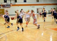 Le basket-ball des femmes de NCAA Photos libres de droits
