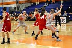 Le basket-ball des femmes de NCAA Images stock