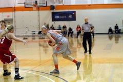 Le basket-ball des femmes de NCAA Photographie stock