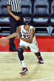 2015 le basket-ball des femmes de NCAA - temple contre l'état du Delaware Images libres de droits