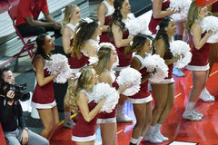2015 le basket-ball des femmes de NCAA - temple contre l'état du Delaware Photos stock