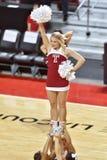 2015 le basket-ball des femmes de NCAA - temple contre l'état du Delaware Image libre de droits