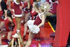 2015 le basket-ball des femmes de NCAA - temple contre l'état du Delaware Images stock