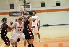 Le basket-ball des hommes de NCAA Photo libre de droits
