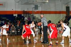 Le basket-ball des hommes de NCAA Images libres de droits