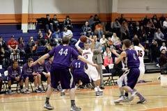 Le basket-ball des hommes de NCAA Photo stock