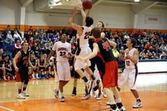Le basket-ball des hommes de NCAA Photos libres de droits