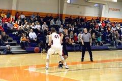 Le basket-ball des hommes de NCAA Image libre de droits