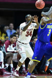 2015 le basket-ball des hommes de NCAA - Delaware au temple Image libre de droits