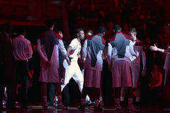 2014 le basket-ball des hommes de NCAA - TEMPLE contre LIU Image stock