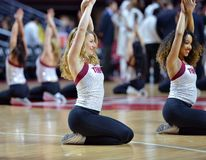 2015 le basket-ball des hommes de NCAA - Temple-Houston Photo libre de droits