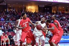 2015 le basket-ball des hommes de NCAA - Temple-Houston Image libre de droits