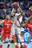 2015 le basket-ball des hommes de NCAA - Temple-Houston Image stock