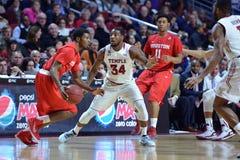 2015 le basket-ball des hommes de NCAA - Temple-Houston Images stock