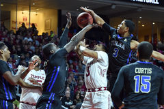2015 le basket-ball des hommes de NCAA - Temple-Tulsa Photos stock