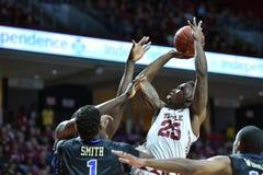 2015 le basket-ball des hommes de NCAA - Temple-Tulsa Photographie stock libre de droits