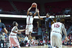 2015 le basket-ball des hommes de NCAA - Temple-Tulsa Images libres de droits