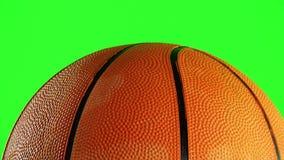 Le basket-ball roule banque de vidéos
