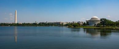 Le bassin de marée du mail national dans le Washington DC photos stock