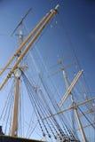 Le bateau à voiles Photo libre de droits