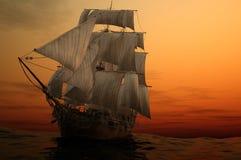 Le bateau illustration de vecteur