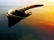 Le bateau de bassin Image libre de droits