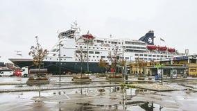 """Le bateau de croisière """"routes de couronne """" image stock"""