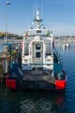 Le bateau de la délivrance de mer de la Suède Images stock