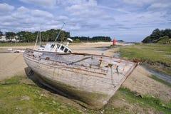 Le bateau de la ruine photographie stock libre de droits