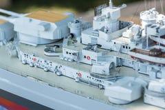 Le bateau de modèle d'échelle de RC aux championnats du monde classent NS NAVIGA Photos libres de droits