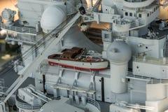 Le bateau de modèle d'échelle de RC aux championnats du monde classent NS NAVIGA Photo libre de droits