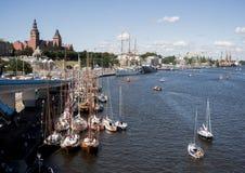 Le bateau de navigation Photos libres de droits