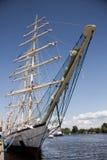 Le bateau de navigation Photos stock