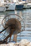Le bateau de pêche Images libres de droits