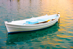 Le bateau de pêche Photo stock