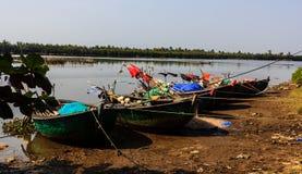 Le bateau de pêche Photos libres de droits