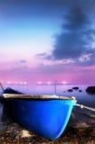 le bateau de pêcheurs Photos stock