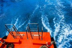 Le bateau de queue photo stock