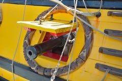 Le bateau de vintage à l'événement a appelé l'ancre d'Ostende Images stock