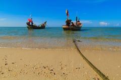 Le bateau est garé photographie stock libre de droits