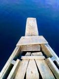 Le bateau et la rivière Images libres de droits