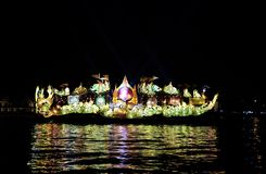 Le bateau léger Images stock