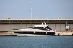 Le bateau moderne photo stock