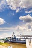 Le bateau USS Kidd sert de musée images libres de droits