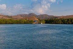 Le bateau voyage Komodo Photos libres de droits