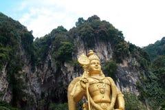 Le Batu foudroie Lord Murugan Statue et l'entrée près de Kuala Lumpur Malaysia photo libre de droits