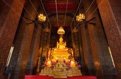 Le beau Bouddha antique sur 200 ans Photographie stock libre de droits