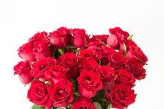 Le beau bouquet de roses rouges Image stock